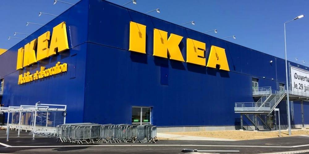 parte esterna negozio Ikea