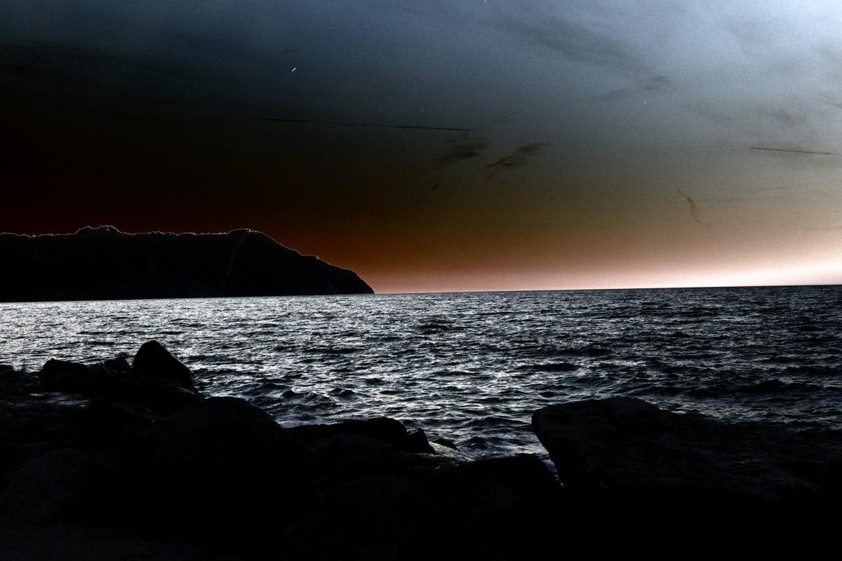 Mone Conero al tramonto
