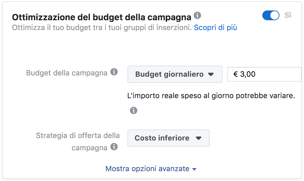 campagna facebook cbo