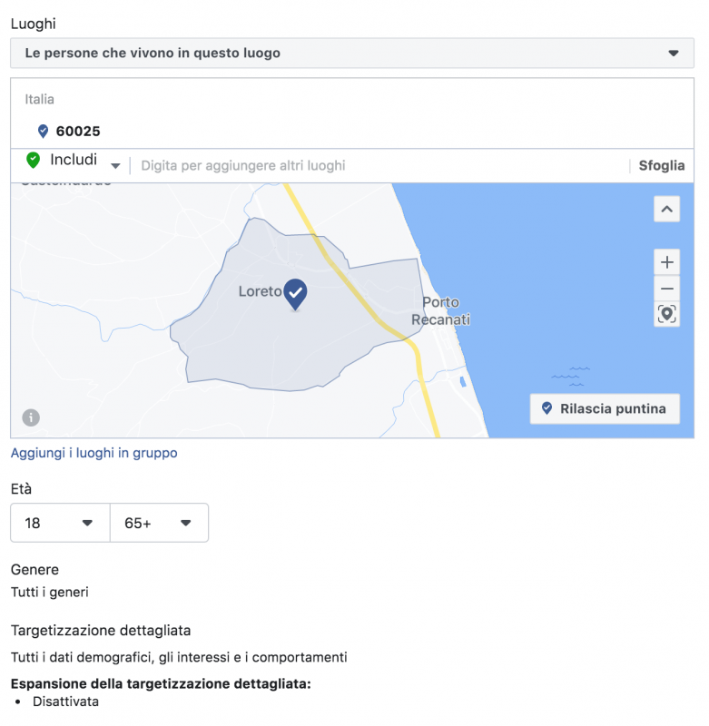 targeting facebook ads