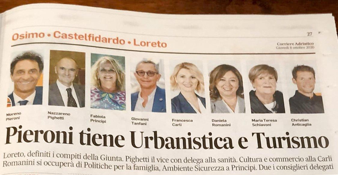 corriere adriatico Loreto